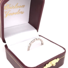 ANTIQUE STYLE MULTI CUT DIAMOND BAND