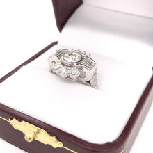 2.1 CARAT MID CENTURY DIAMOND RING