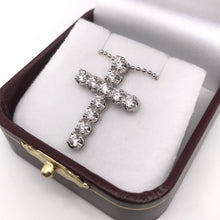 1.21 DTW DIAMOND CROSS NECKLACE