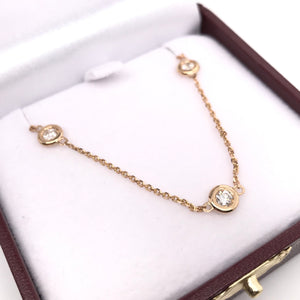 1.30 DTW DIAMOND CHAIN ( 18 INCHES )