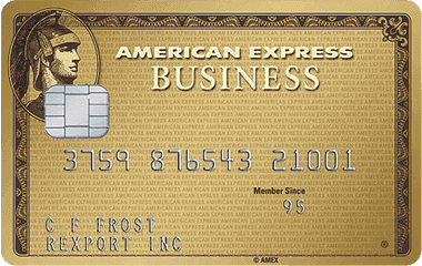 American Express Business Gold Application