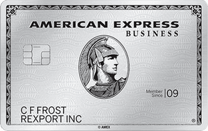 American Express Business Platinum Application