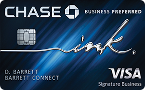 Chase Ink Business Preferred Application