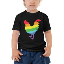 Rooster Pride toddler size t-shirt | Vegan 4 Life by HIPPHOP