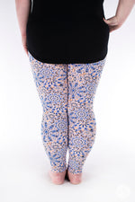Peachy Keen Plus leggings - SweetLegs