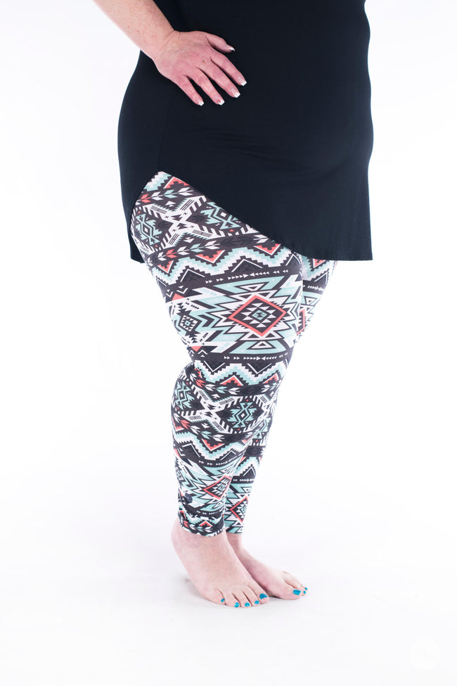 Sweet Inspiration Plus leggings - SweetLegs