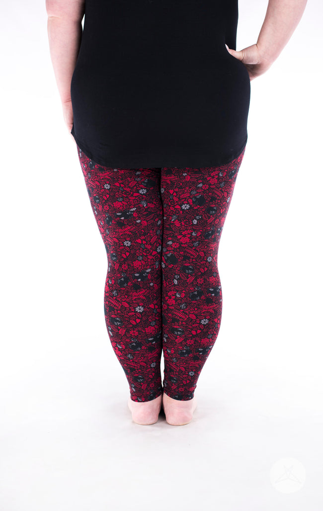 Glamrock Plus leggings - SweetLegs