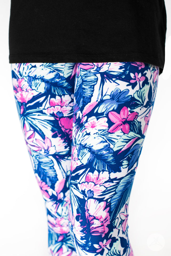 Aloha Kids leggings - SweetLegs