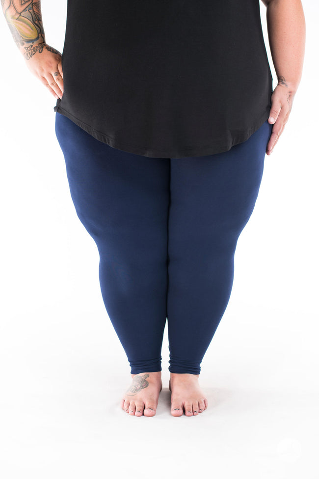 Midnight Plus2 leggings - SweetLegs