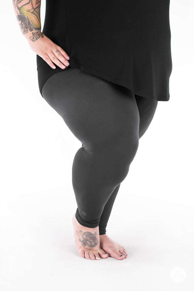 Charcoal Plus2 leggings - SweetLegs