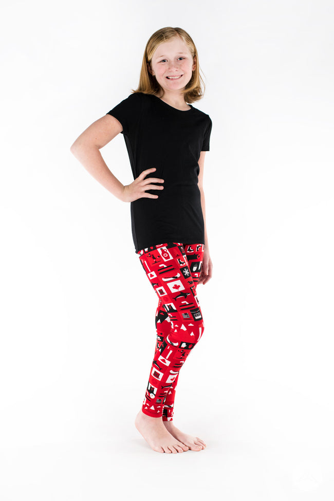 Wild and Free Kids leggings - SweetLegs