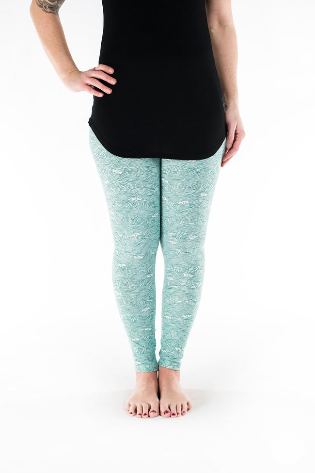 Make Waves Petite leggings - SweetLegs