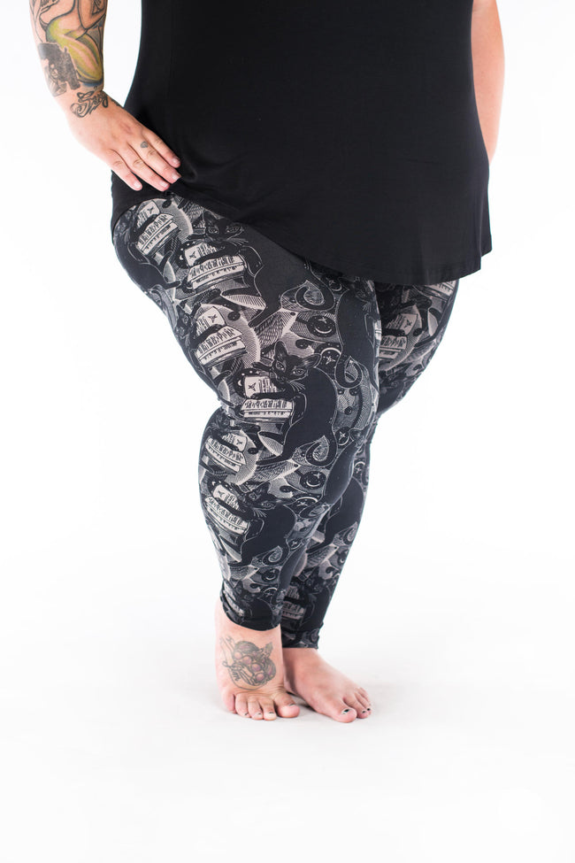 Luna Plus2 leggings - SweetLegs