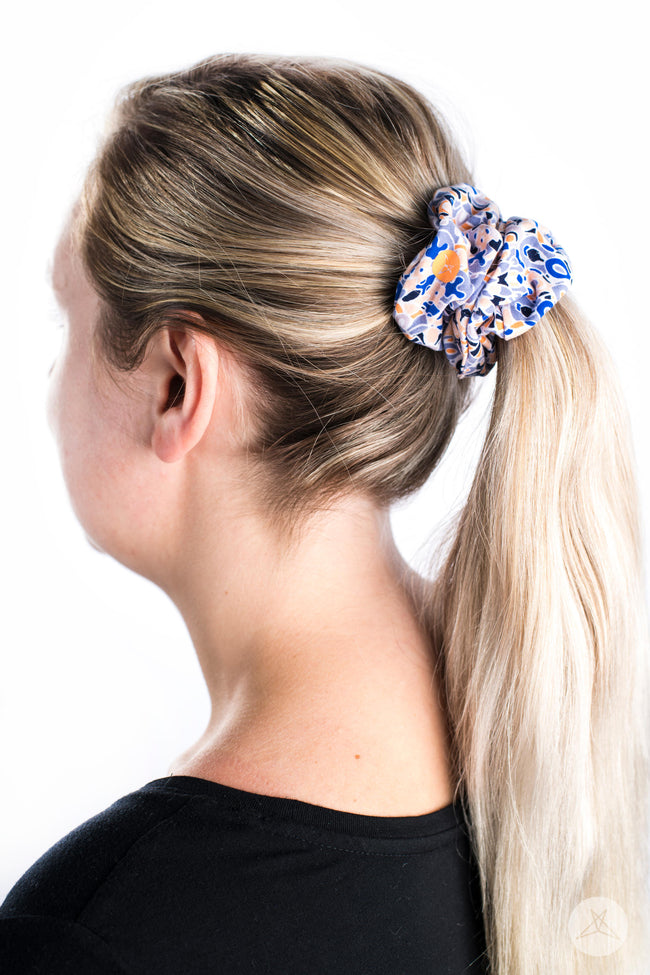 Peachy Keen Scrunchie