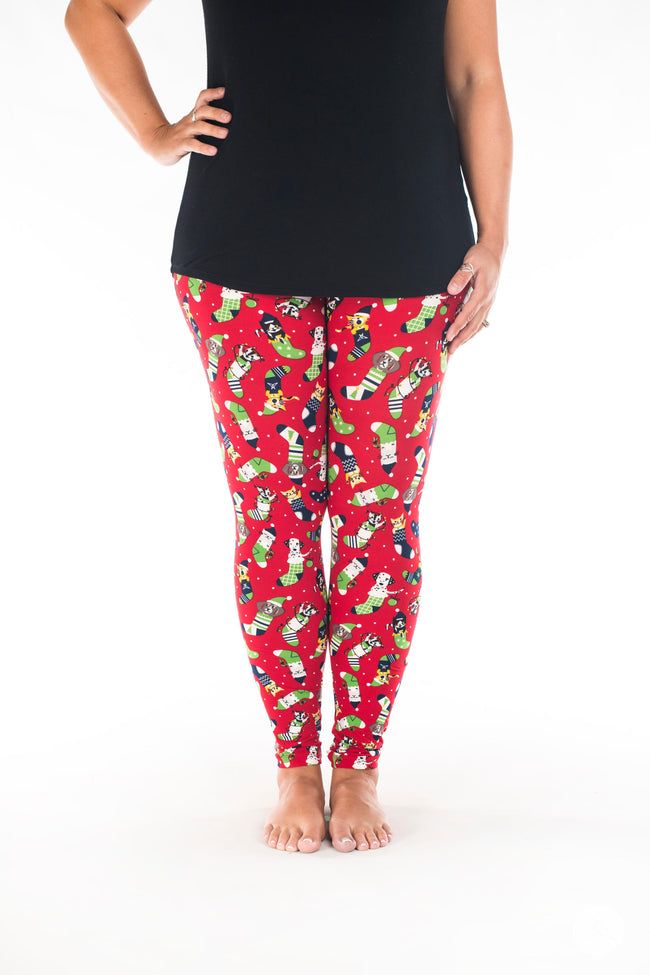 Santa's Helpers leggings - SweetLegs