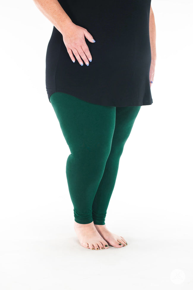 Evergreen Plus leggings - SweetLegs