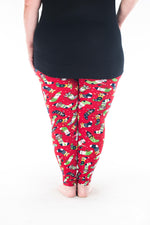 Santa's Helpers Plus leggings - SweetLegs