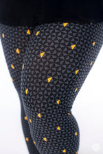 Stay Golden Plus leggings - SweetLegs