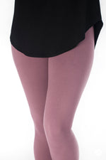 Mauving On Up Petite leggings - SweetLegs