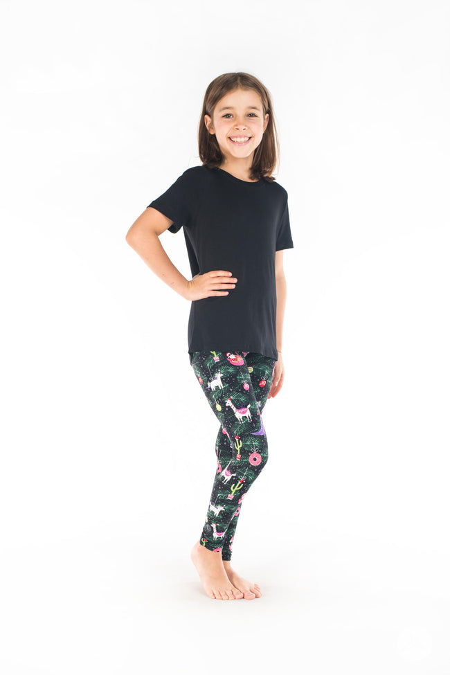 Sleigh All Day Kids leggings - SweetLegs