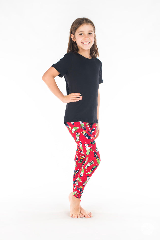 Santa's Helpers Kids leggings - SweetLegs