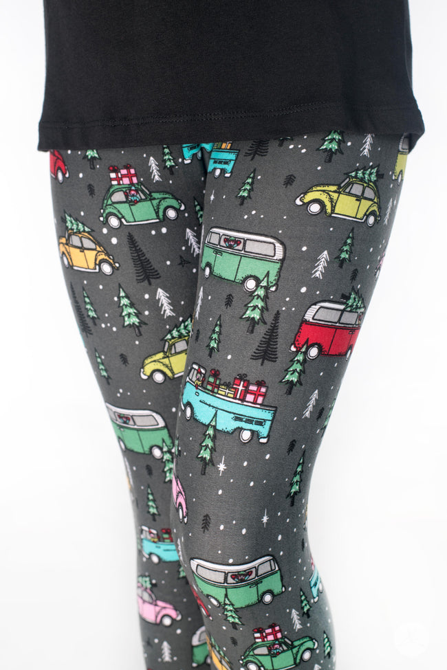 Holiday Road Kids leggings - SweetLegs