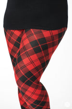 Lumberjack leggings - SweetLegs