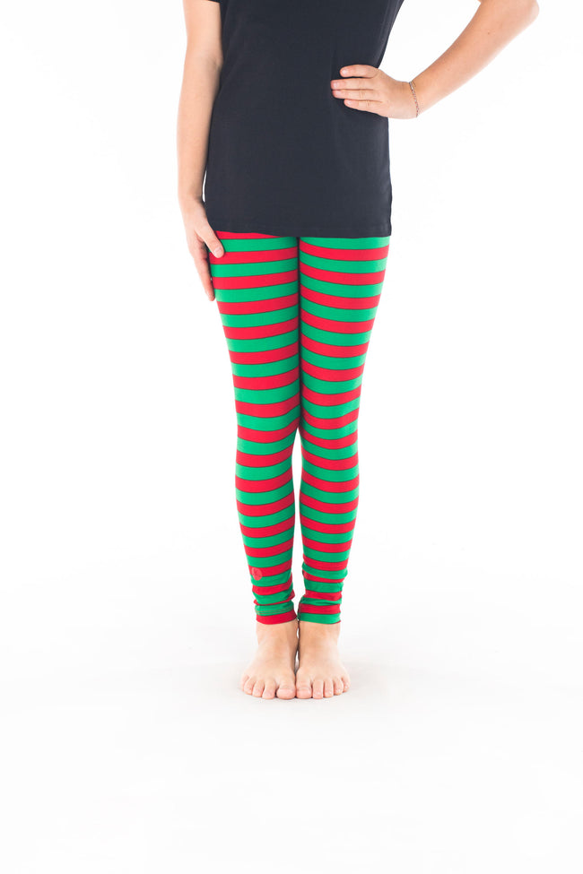 Holly Jolly Kids leggings - SweetLegs
