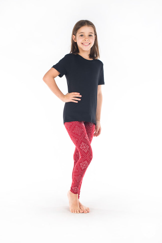Wrapped Up Kids leggings - SweetLegs