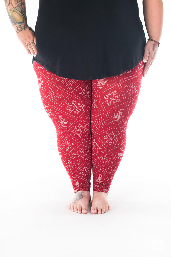 Wrapped Up Plus2 leggings - SweetLegs