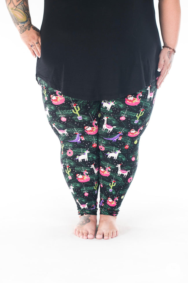 Sleigh All Day Plus2 leggings - SweetLegs