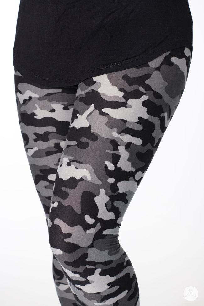 Urban Camo v2 Kids leggings - SweetLegs