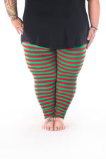Holly Jolly Plus2 leggings - SweetLegs