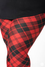 Lumberjack Plus leggings - SweetLegs