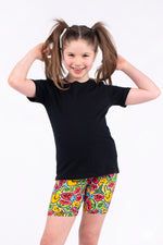 Tutti Fruity Kids Biker Shorts