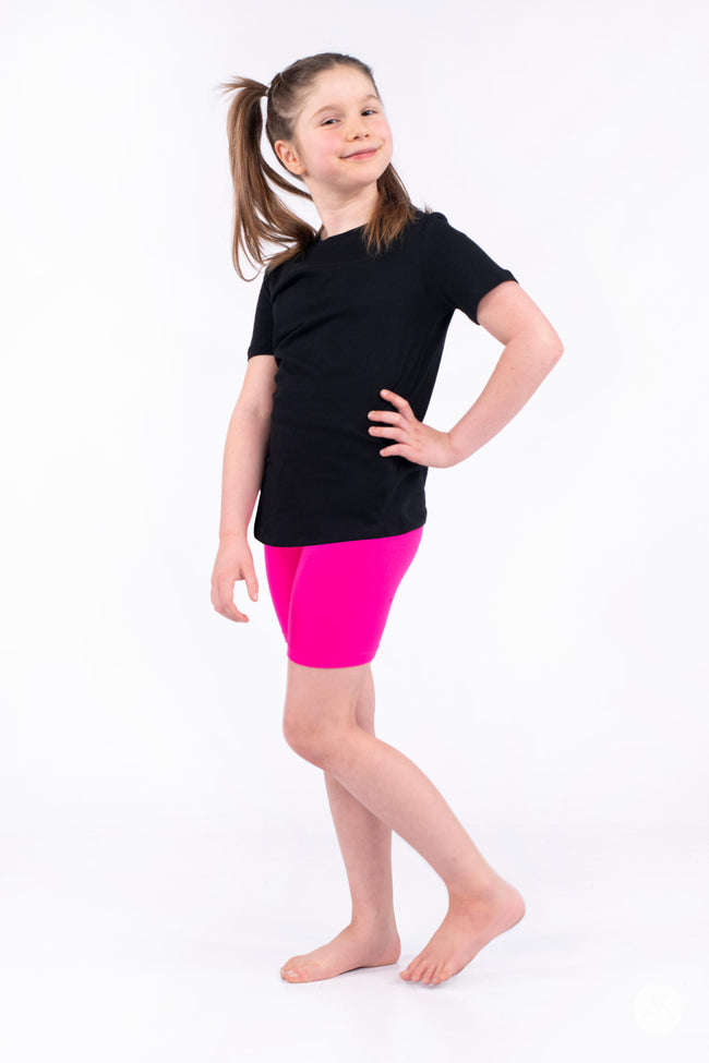 Hot Pop Kids Biker Shorts