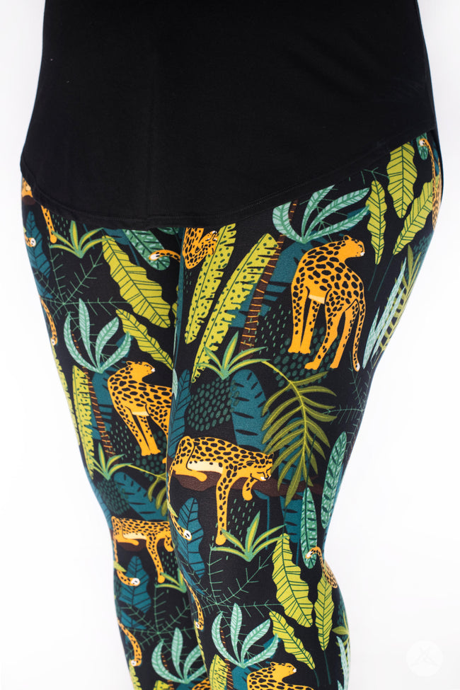 Leopard King leggings - SweetLegs