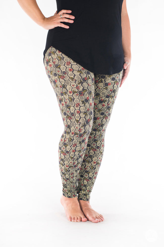 Bee Yourself leggings - SweetLegs