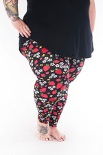Berry Sweet Plus2 leggings - SweetLegs