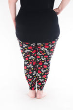 Berry Sweet Plus leggings - SweetLegs
