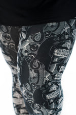 CATS002 Plus leggings - SweetLegs