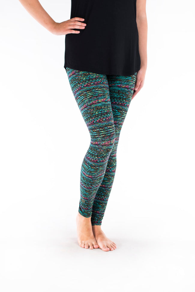 Keepin' It Teal Petite leggings - SweetLegs