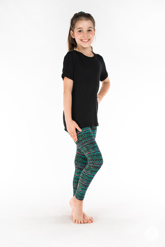 AZTC006  Kids leggings - SweetLegs