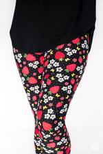 Berry Sweet Petite leggings - SweetLegs