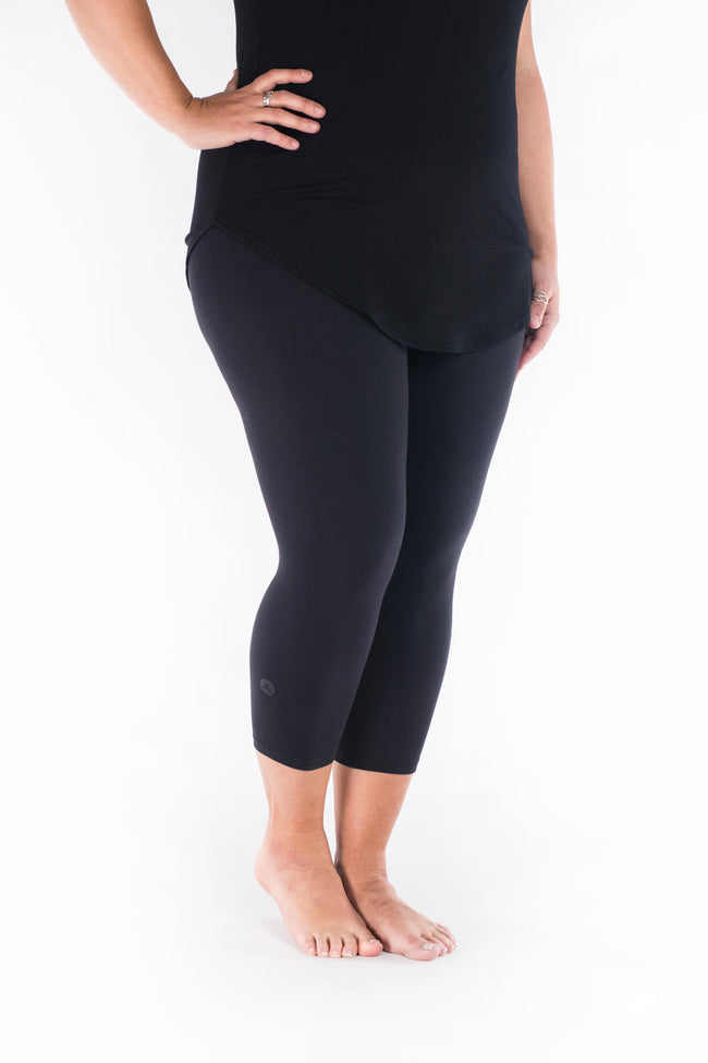 Black Crops leggings - SweetLegs