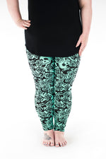 Bad Romance Plus leggings - SweetLegs