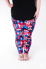 Liberty Plus leggings - SweetLegs