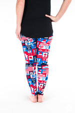 Liberty Petite leggings - SweetLegs