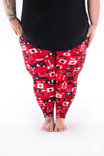Wild and Free Plus2 leggings - SweetLegs