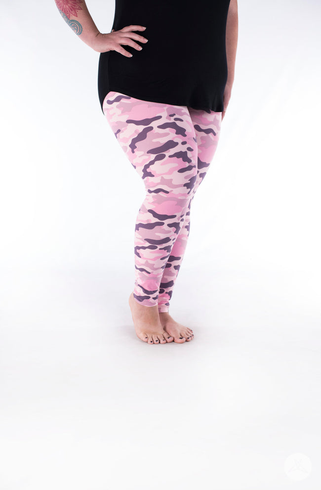 Miss Independent  Plus leggings - SweetLegs
